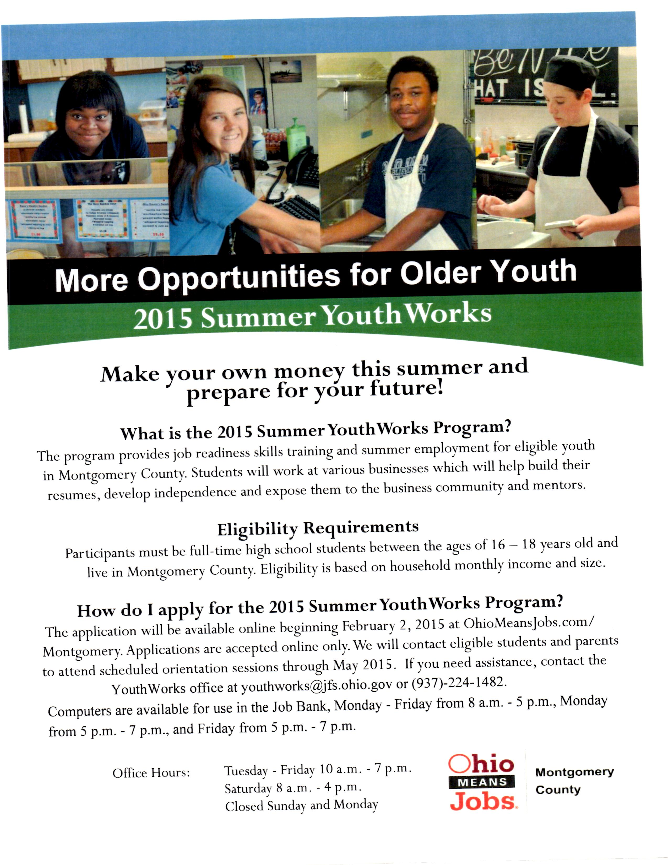 Summer Job Opportunities for DCHS Students | DC WARRIOR DAILY