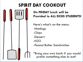 Spirit Day Cookout