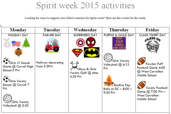 Spirit Week Picture