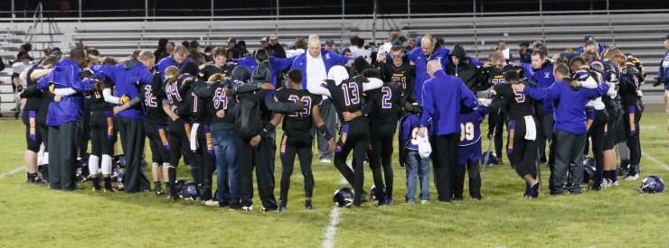 Warriors Praying