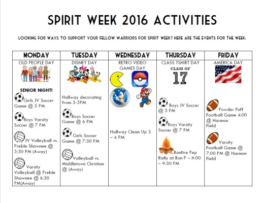 spirit-week-2016-events-poster