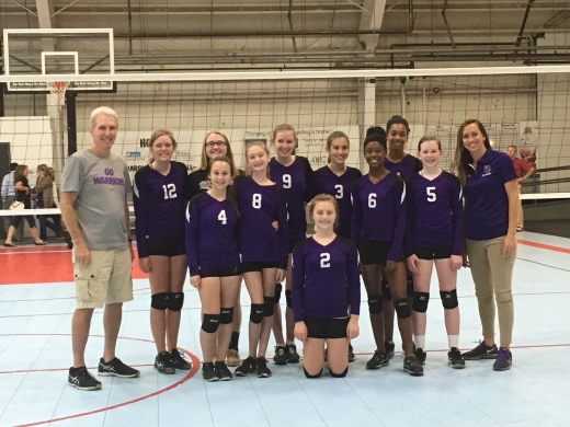 DC Jr. High Volleyball Team pic