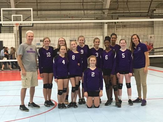 DC Jr. High Volleyball Team pic
